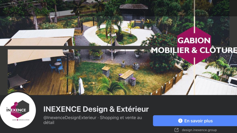 INEXENCE Design & Extérieur arrive sur Facebook 🎉