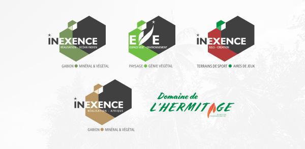 logos inexence voeux 2021
